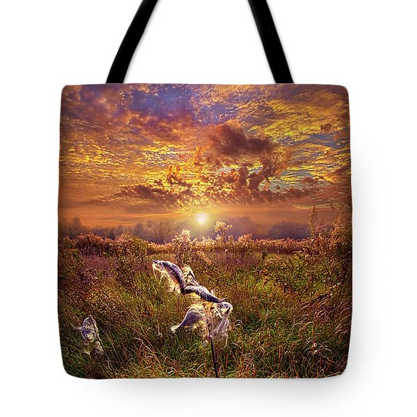 Tote Bag featuring the photograph Autumn Wings by Phil Koch