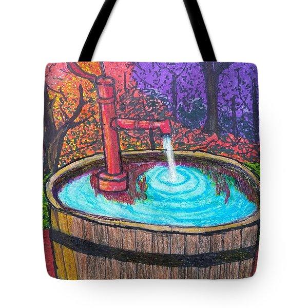 Autumn's Back Tote Bag