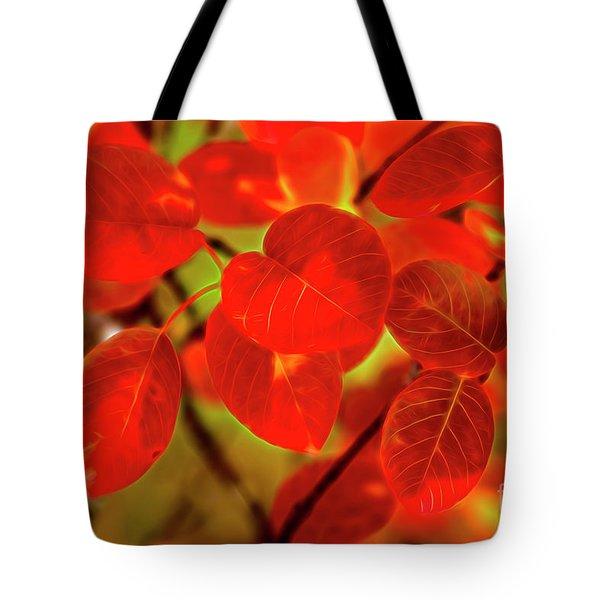Autumn's Glow Tote Bag