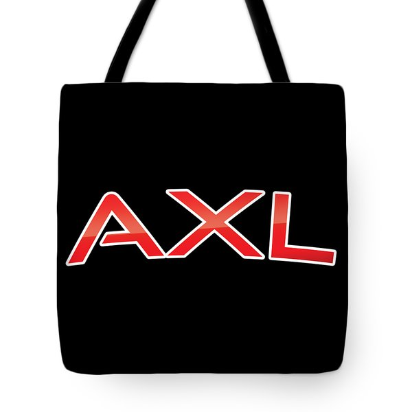 Tote Bag featuring the digital art Axl by TintoDesigns