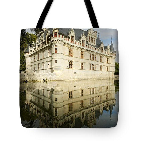 Tote Bag featuring the photograph Azay-le-rideau by Stephen Taylor