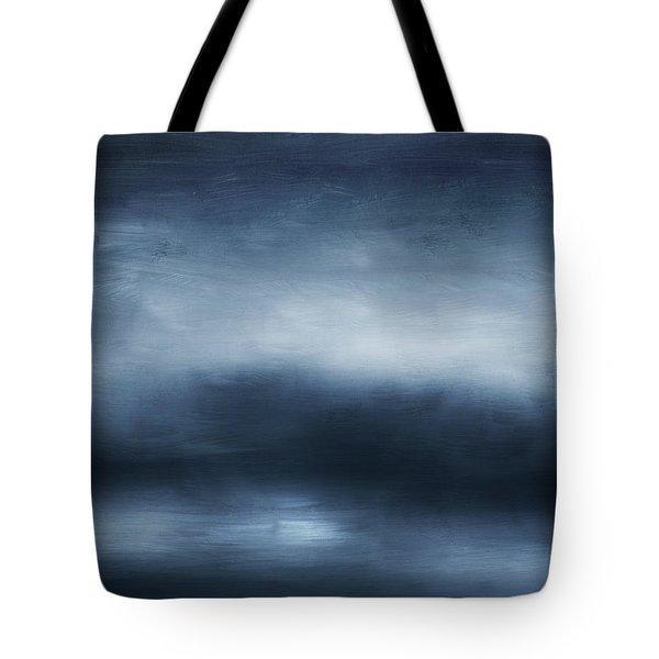 Azul 2- Art By Linda Woods Tote Bag