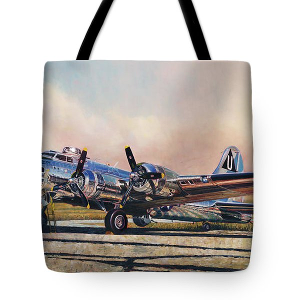 B-17g Sentimental Journey Tote Bag