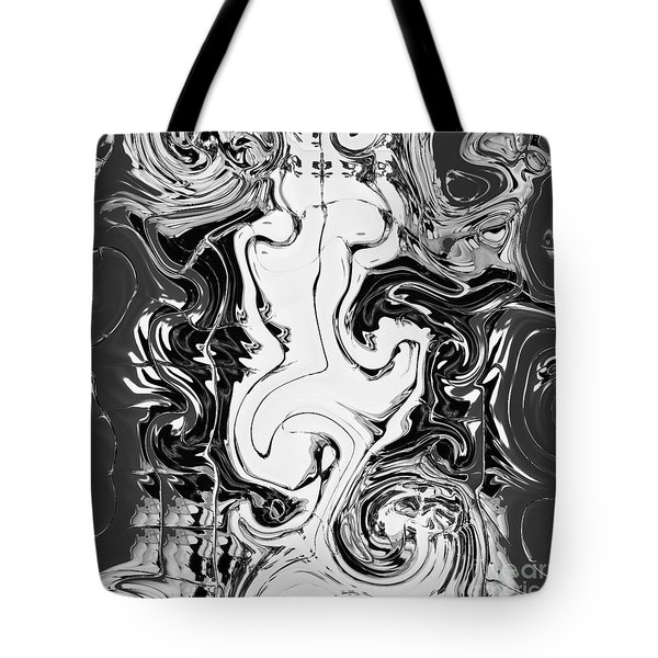 Tote Bag featuring the painting B Winer And Move by A zakaria Mami