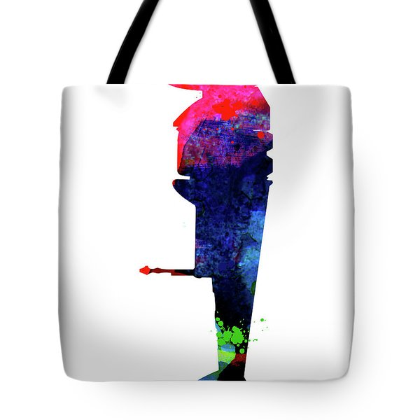 B-wing Watercolor Tote Bag