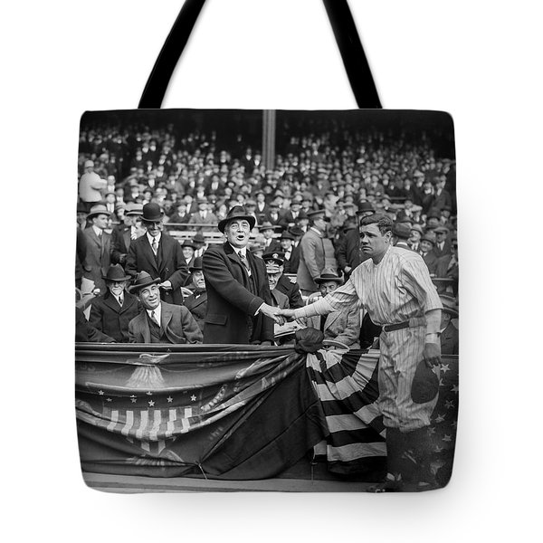 Babe Meets The President Tote Bag