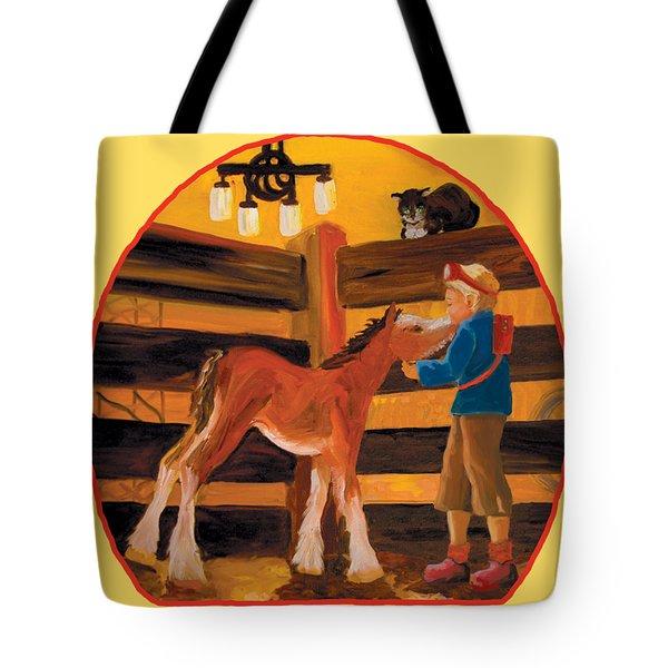 Baby Cricket's Kiss Tote Bag