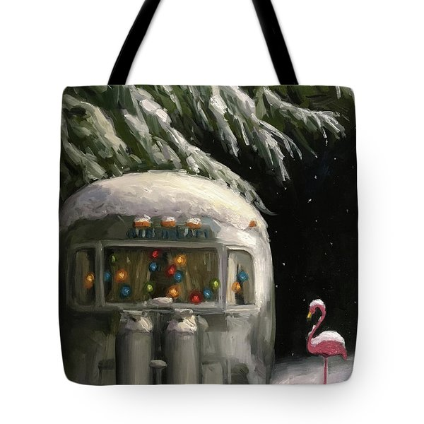 Baby, It's Cold Outside Tote Bag