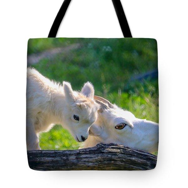 Baby Loves Mama Tote Bag