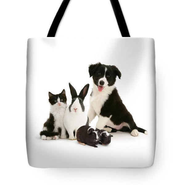 Tote Bag featuring the photograph Back-and-white Is Alright by Warren Photographic