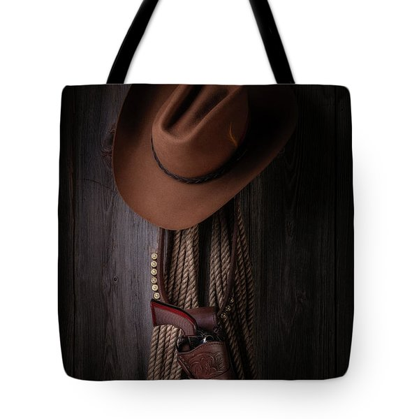 Back At The Bunkhouse Tote Bag