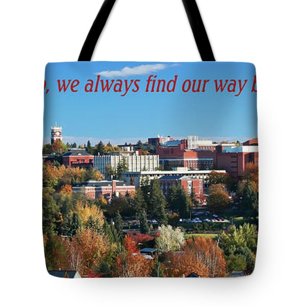 Tote Bag featuring the photograph Back Home 2 by David Patterson