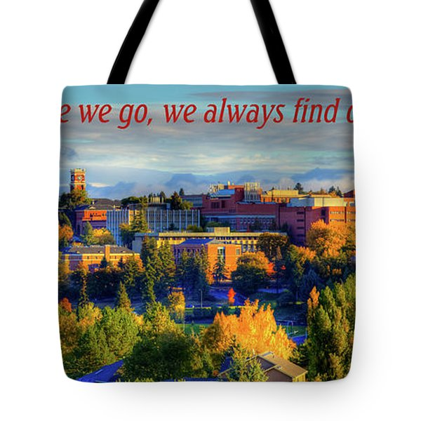 Tote Bag featuring the photograph Back Home 3 by David Patterson