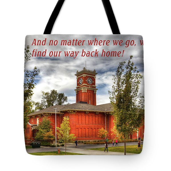 Tote Bag featuring the photograph Back Home by David Patterson