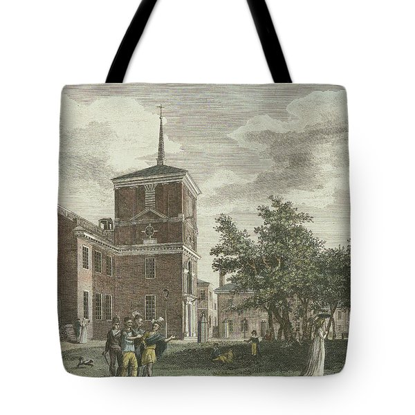 Back Of State House Tote Bag