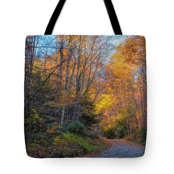 Back Road Beauty Tote Bag