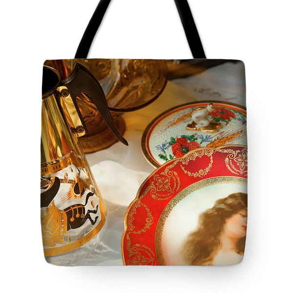 Back To Yesterday Tote Bag