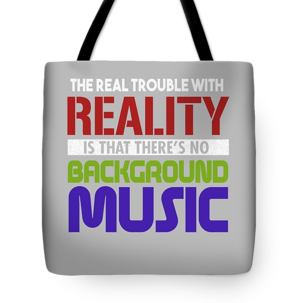 Background Music Tote Bag