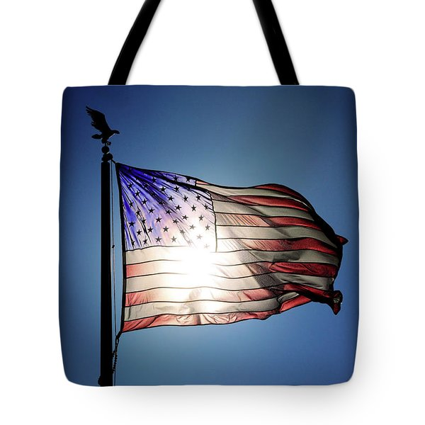 Backlit Glory Tote Bag