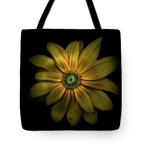 Backyard Flowers 34 Color Version Tote Bag