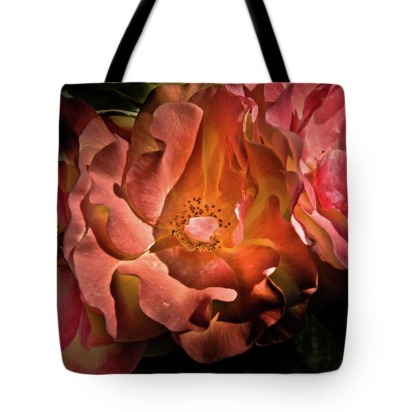 Backyard Flowers 40 Color Version Tote Bag