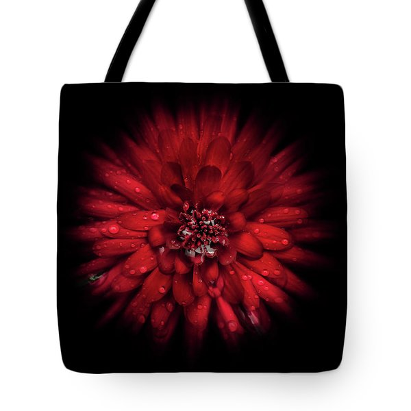 Backyard Flowers 45 Color Flow Version Tote Bag