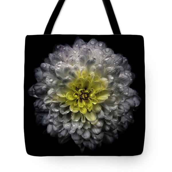 Backyard Flowers 46 Color Version Tote Bag