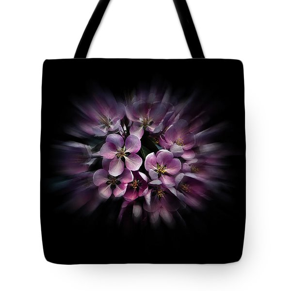 Backyard Flowers 47 Color Flow Version Tote Bag