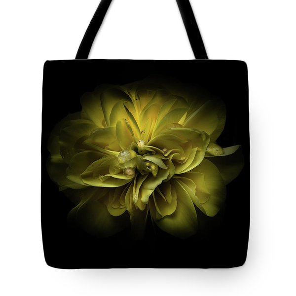 Backyard Flowers 67 Color Version Tote Bag