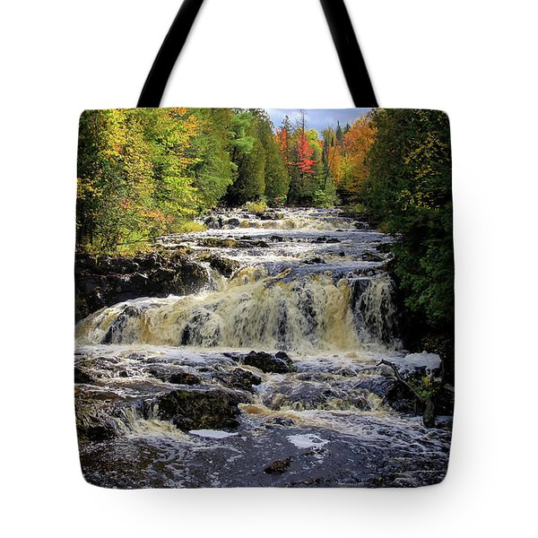 Bad River Cascade Tote Bag