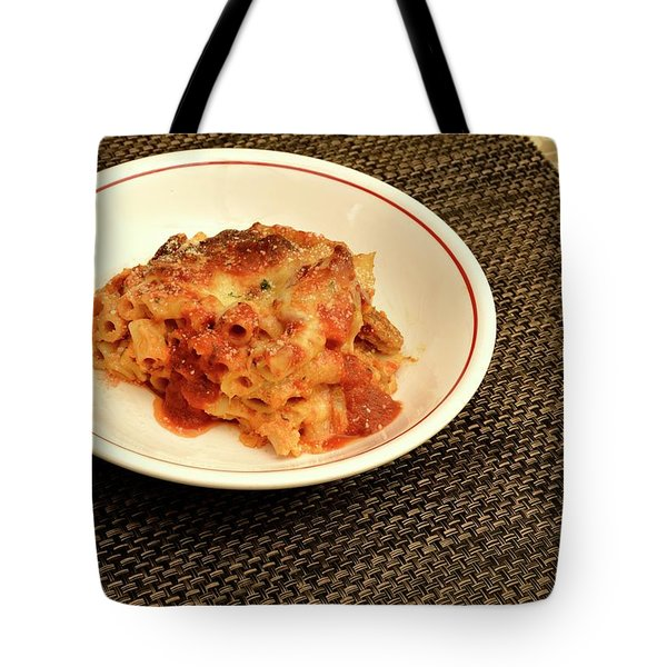 Baked Ziti Serving 1 Tote Bag