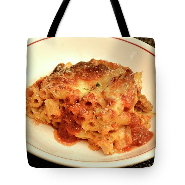Baked Ziti Serving Tote Bag