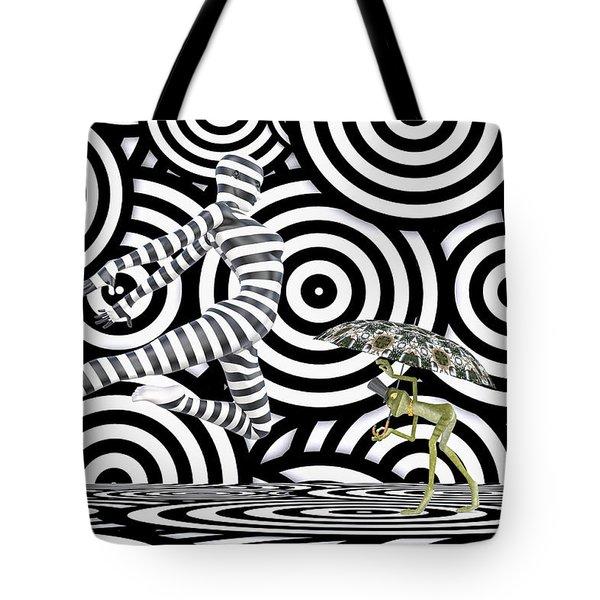 Balancing Art Tote Bag