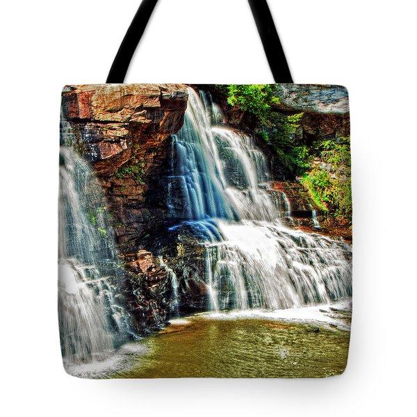Balckwater Falls - Closeup Tote Bag