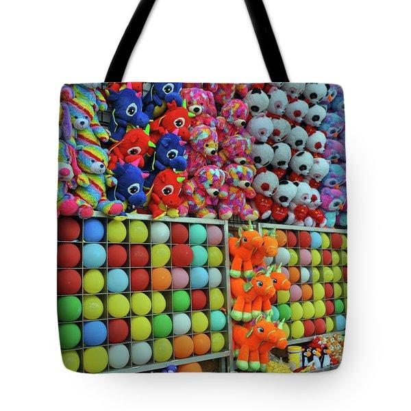 Balloon Games Tote Bag
