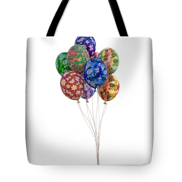 Balloons Perfect Touch Tote Bag