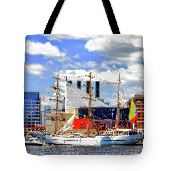 Baltimore's 2012 Sailibration Tote Bag