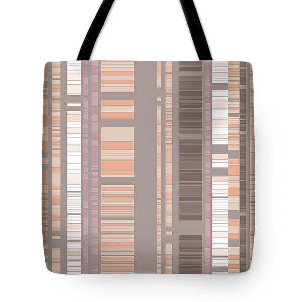 Bamboo Forest Abstract Tote Bag