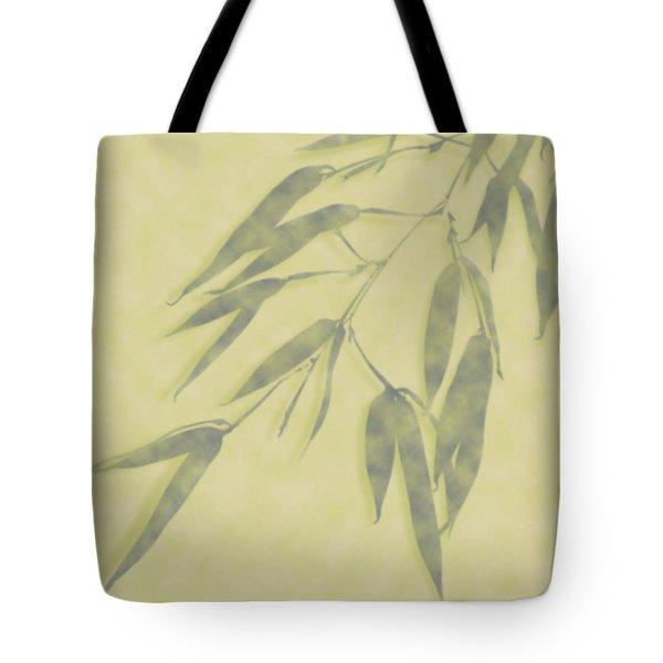Bamboo Leaves 0580b Tote Bag
