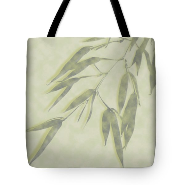 Bamboo Leaves 0580c Tote Bag