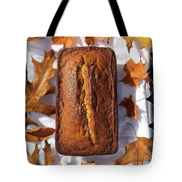 Banana Bread With Rum, Ginger And White Whole Wheat Tote Bag