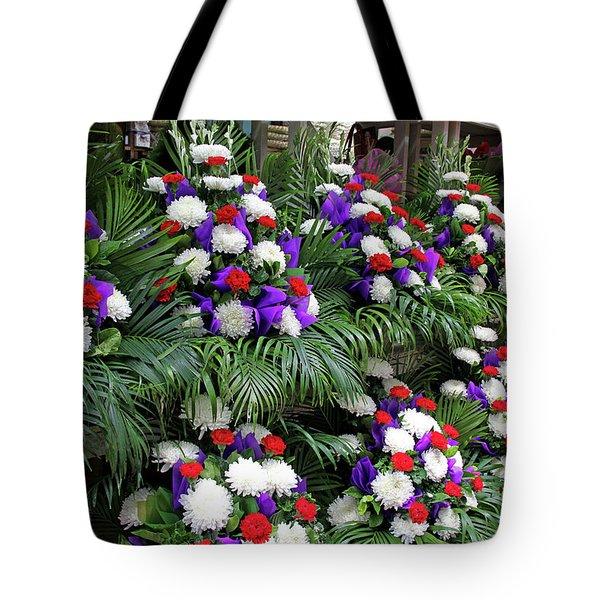 Bangkok, Thailand - Flower Market Tote Bag