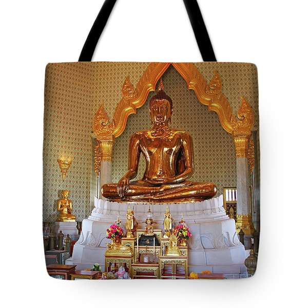 Bangkok, Thailand - Golden Buddha Tote Bag