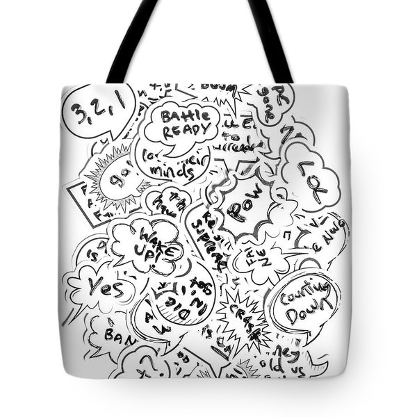 Banter Bubbles From A Comic Creation Tote Bag