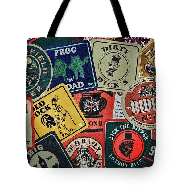 Bar Coasters For The Man Cave Tote Bag