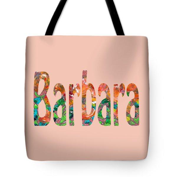 Tote Bag featuring the digital art Barbara by Corinne Carroll