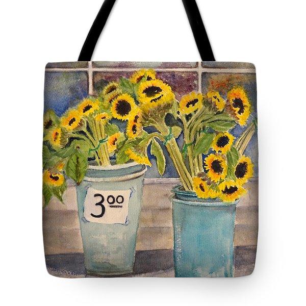Bargain Buckets Tote Bag