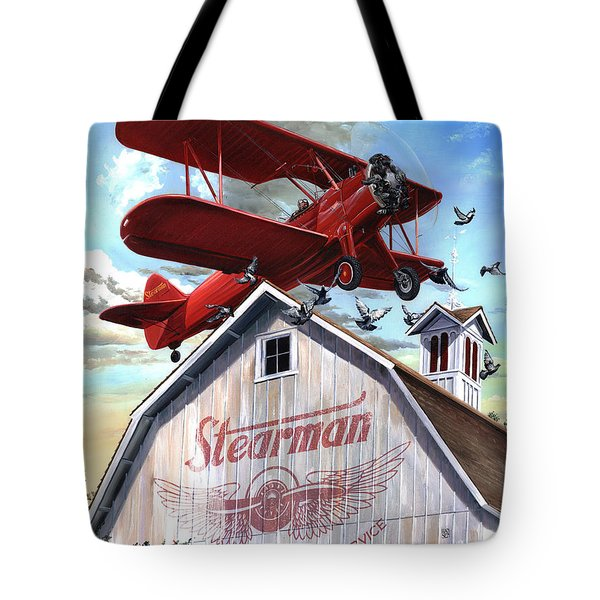 Barn Stormer - Customizeable Tote Bag