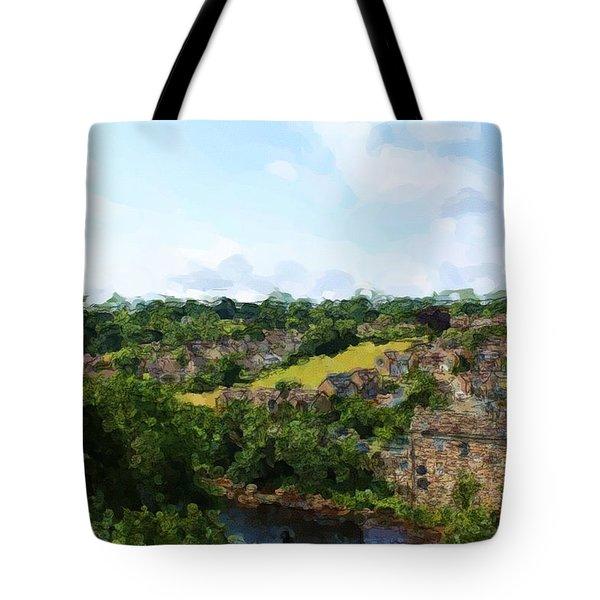 Barnard Castle View Tote Bag
