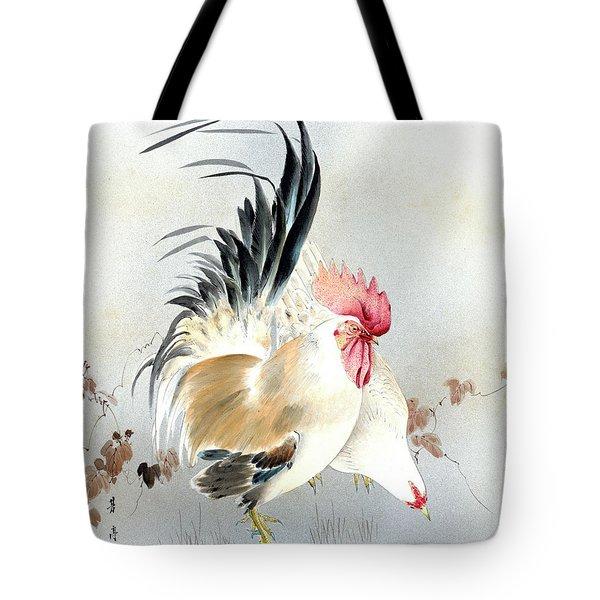Barnyard Fowl Tote Bag